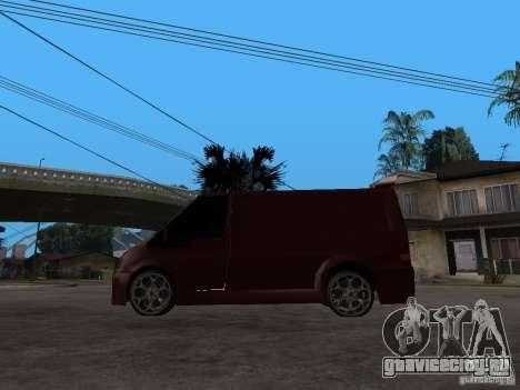 Ford Transit Tuning для GTA San Andreas вид слева