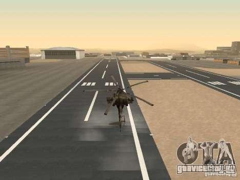 МИ-28 для GTA San Andreas вид сбоку