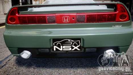 Honda NSX NA2 [Beta] для GTA 4 двигатель