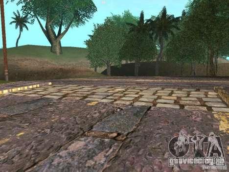 Новые дороги в Вайнвуде для GTA San Andreas шестой скриншот