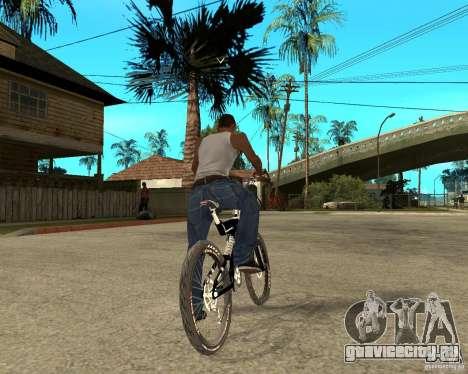 Diamondback strike Beta для GTA San Andreas вид сзади слева