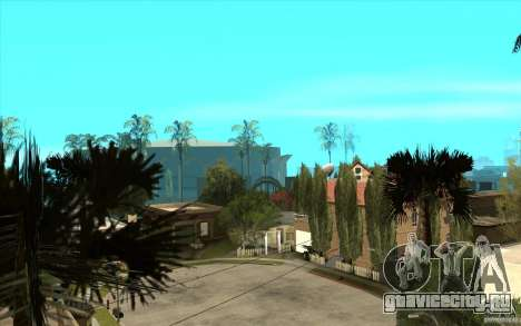New Grove Street TADO edition для GTA San Andreas пятый скриншот