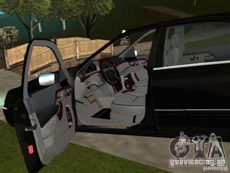 Mercedes-Benz S600 Biturbo 2003 v2 для GTA San Andreas вид сзади