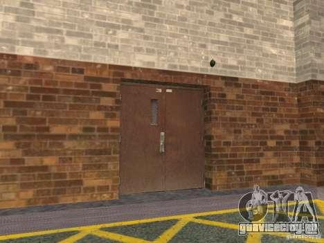 Новый подземный гараж полиции в Лос Сантосе для GTA San Andreas второй скриншот