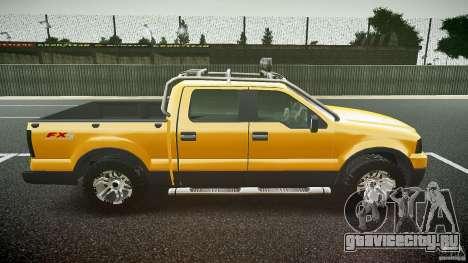 Ford F150 FX4 OffRoad v1.0 для GTA 4 вид изнутри