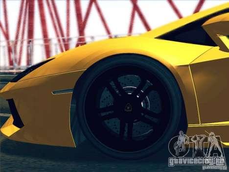 Lamborghini Aventador LP700-4 2011 V1.0 для GTA San Andreas вид сзади