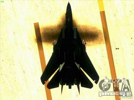 F-14 Tomcat Razgriz для GTA San Andreas салон
