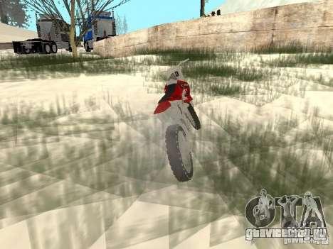 Новый Sanchez для GTA San Andreas вид справа