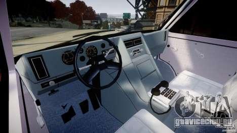 GMC Van G-15 1983 The A-Team для GTA 4 вид сбоку