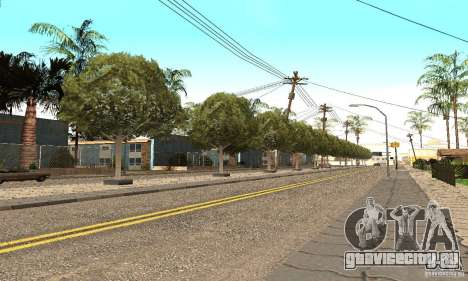 Grove Street 2012 V1.0 для GTA San Andreas второй скриншот