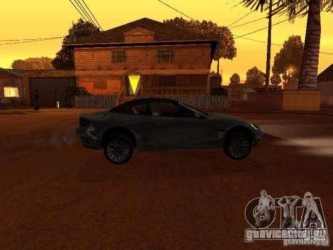 Maserati Granturismo S для GTA San Andreas