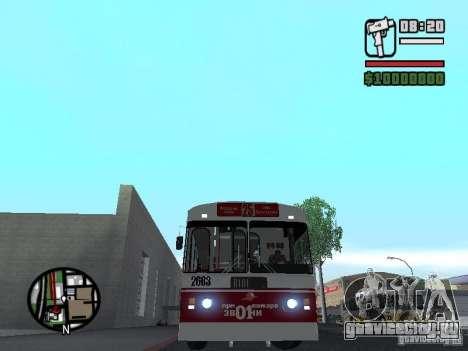 ЗиУ-682Г-017 (682Г0Н) для GTA San Andreas вид слева