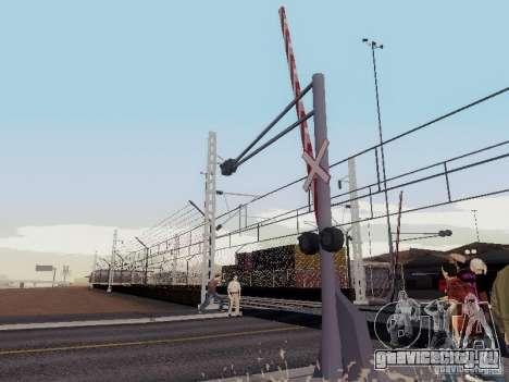ЖД переезд RUS V 2.0 для GTA San Andreas второй скриншот