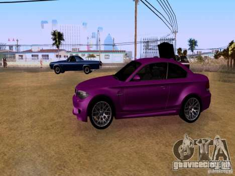 BMW 1M  2011 для GTA San Andreas вид справа