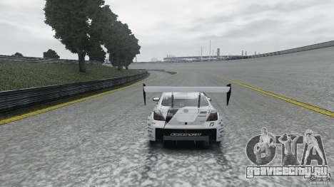 Toyota Team NFS AWD Scion tC для GTA 4 вид сзади