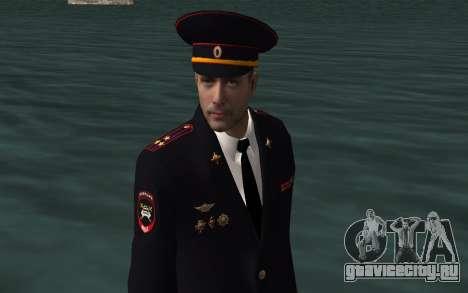 Сотрудник МВД для GTA San Andreas четвёртый скриншот