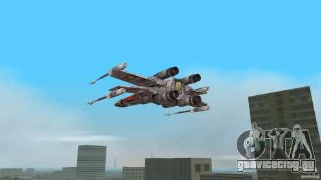 X-Wing Skimmer для GTA Vice City вид слева