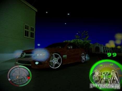 Спидометр by CentR для GTA San Andreas четвёртый скриншот