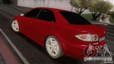 Mazda 6 2006 для GTA San Andreas вид сзади