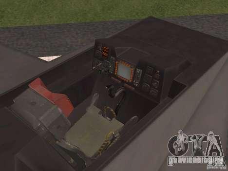 F302 для GTA San Andreas вид изнутри