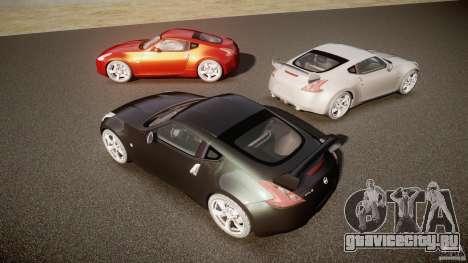 Nissan 370Z для GTA 4 вид сверху