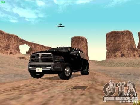 Dodge Ram 3500 Unmarked для GTA San Andreas вид сверху