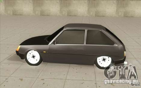 ЗАЗ-1102 Таврия Tuning для GTA San Andreas вид изнутри