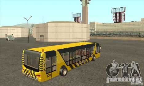 Автобус В Аэропорт для GTA San Andreas вид справа