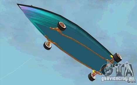 Hot-Boat-Rot для GTA San Andreas вид изнутри