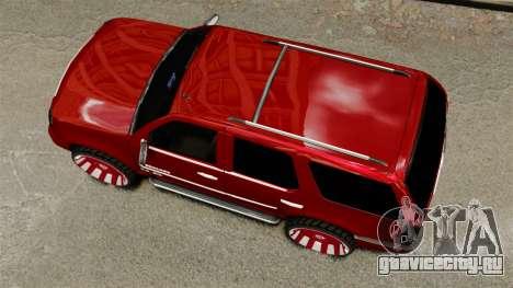 Cadillac Escalade 2011 DUB для GTA 4 вид справа