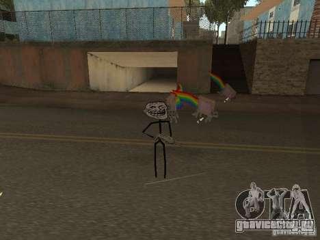 Meme Ivasion Mod для GTA San Andreas второй скриншот