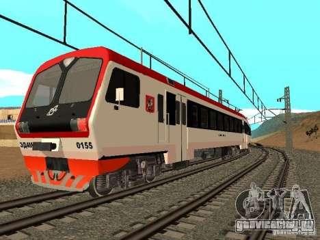 ЭД4МК 0155 для GTA San Andreas вид справа