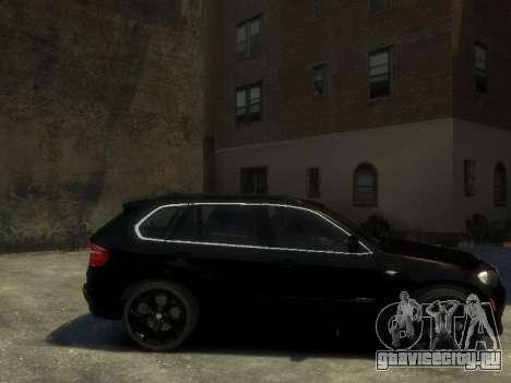 BMW X5 для GTA 4 вид слева