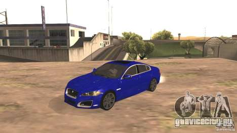 Jaguar XFR 2012 V1.0 для GTA San Andreas вид сзади слева