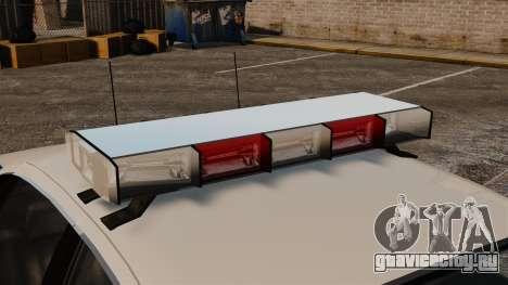Новый Noose Cruiser ELS для GTA 4 вид сзади