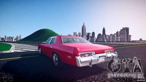 Dodge Monaco 1974 для GTA 4 вид сбоку