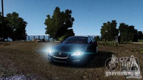 Jaguar XJ 2012 для GTA 4 салон