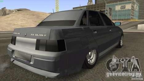 ВАЗ 2110 Dag для GTA San Andreas вид справа