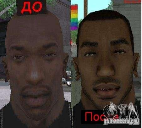 НОВОЕ ЛИЦО CJ для GTA San Andreas