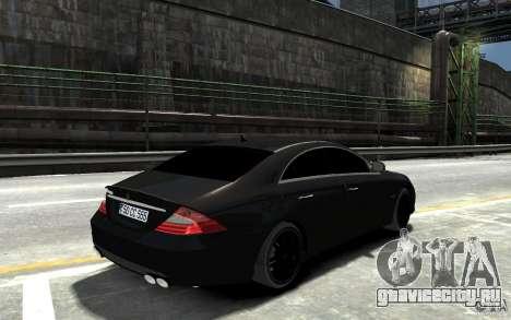 Mercedes Benz CLS Brabus Rocket 2008 для GTA 4 вид справа