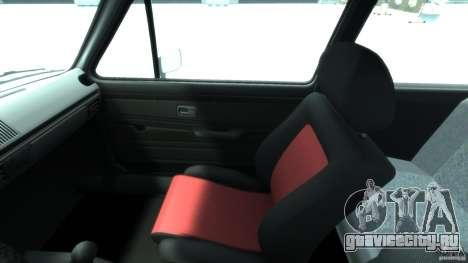 Volkswagen Golf Mk1 для GTA 4 вид сзади