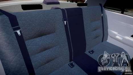Ford Crown Victoria New Jersey State Police для GTA 4 вид изнутри
