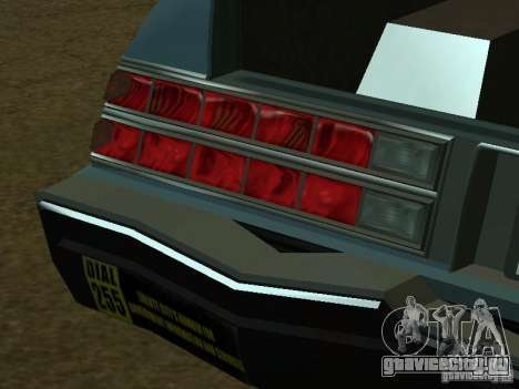 Romans taxi из гта4 для GTA San Andreas