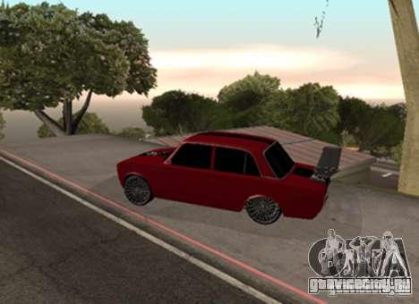 ВАЗ 2101 Drag для GTA San Andreas вид справа