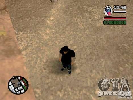 Сlaude FXstyle для GTA San Andreas четвёртый скриншот