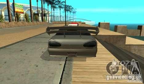 Elegy v1.1 для GTA San Andreas вид справа