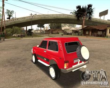 ВАЗ 21213 4x4 для GTA San Andreas салон