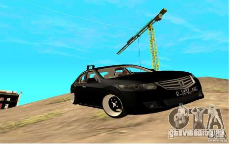 Honda Accord Angry Birds для GTA San Andreas