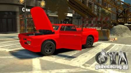 Slamvan для GTA 4 вид сзади слева