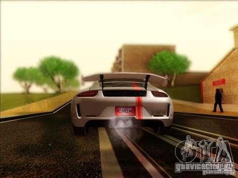 Porsche 911 Carrera S (991) Snowflake 2.0 для GTA San Andreas вид справа